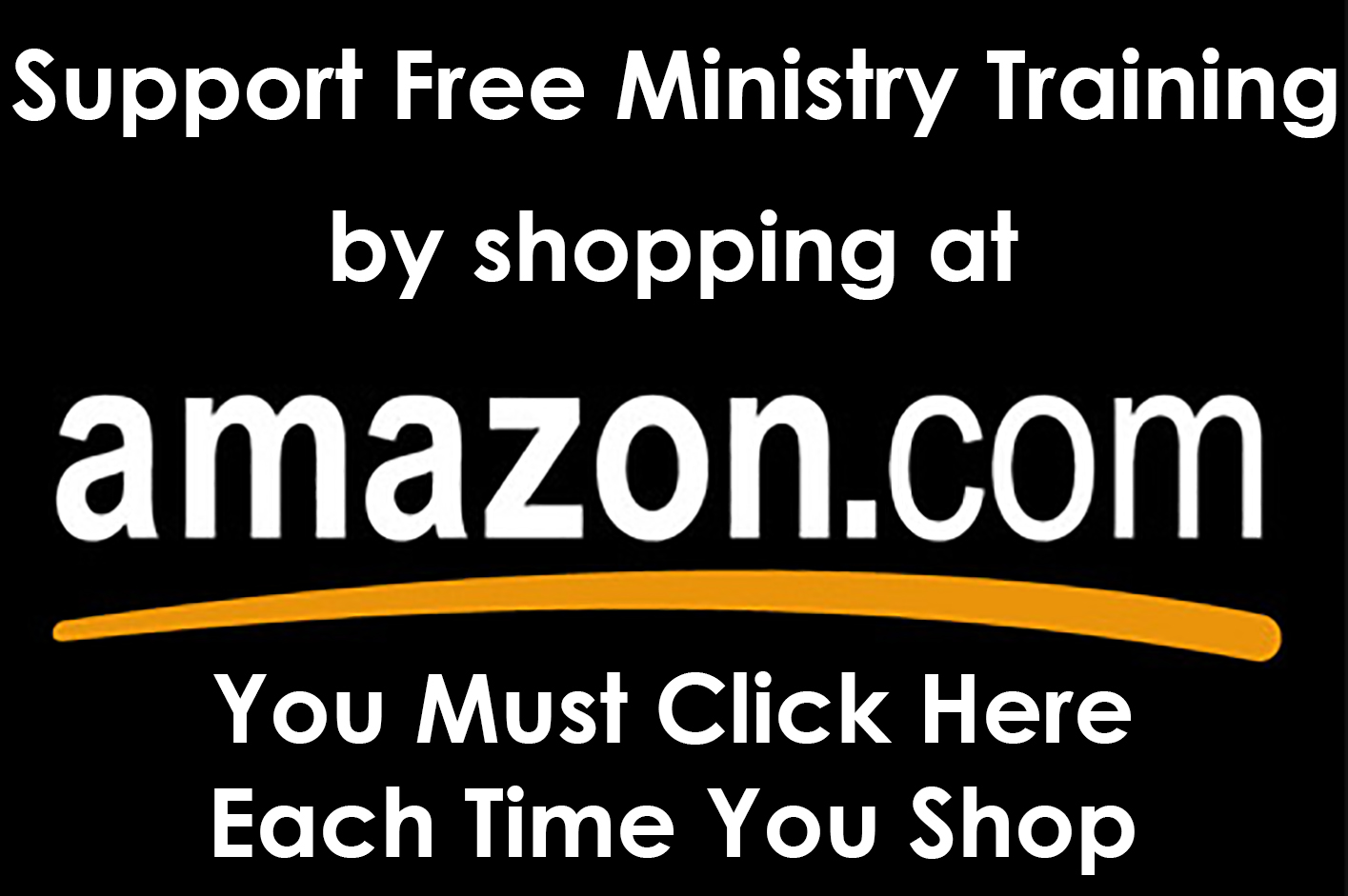 Shop at Amazon? Support Ministry Training when you do!