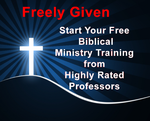 Freely Given Ministry Training