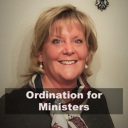 Ordination for Ministers