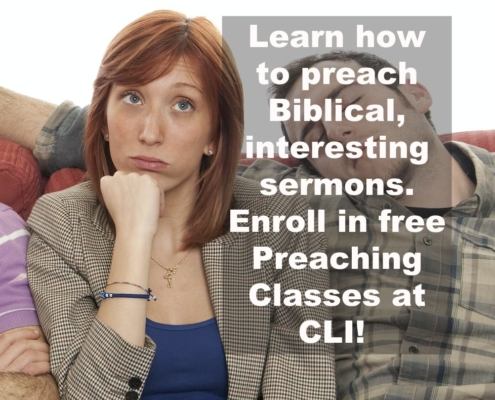 Free Preaching Courses