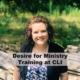 Desire for Ministry Training