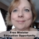 Free Minister Education Opportunity