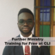 Further Ministry Training for free
