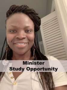 Minister Study Opportunity