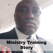 Ministry Training Story