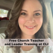 Church Teacher and Leader