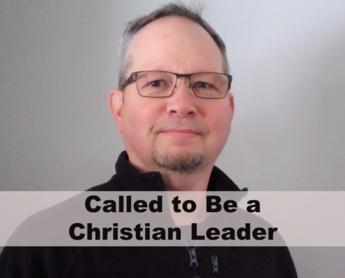 Called to be a Christian Leader