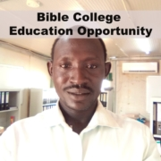 Bible College Education Opportunity
