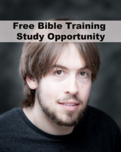 Bible Training Study Opportunity