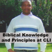 Biblical knowledge and principles