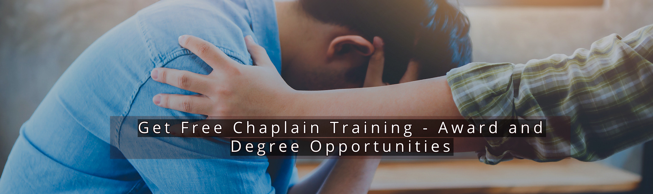 Free Chaplain Training Free Courses With Low Cost Awards And Degrees