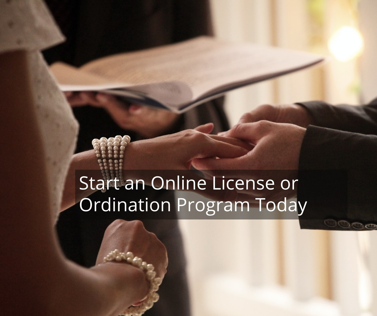 how to become a minister online free