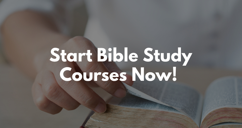 Free online bible study courses